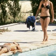 Romy Schneider bikini