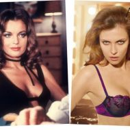 Romy Schneider lingerie