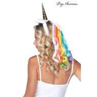 Serre tete licorne leg avenue multicolore chapeaux