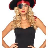 Set de pirate 3 pieces leg avenue leg avenue taille unique kit accessoires noir