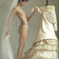 Shalom Harlow lingerie