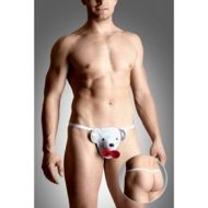 String homme ourson blanc