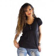 T shirt tunique effet glamour