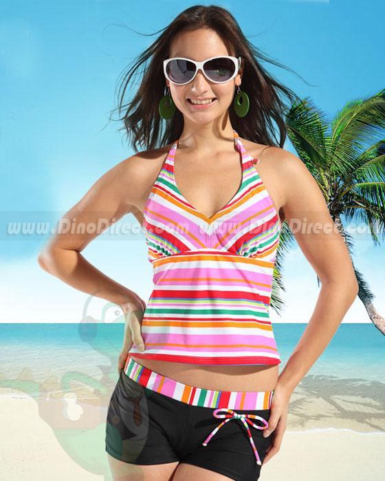 tankini shorts swimwear