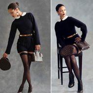 Thandie Newton lingerie