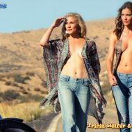 Tricia helfer katee sackhoff acting outlaws