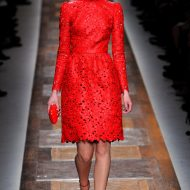 Valentino red dress