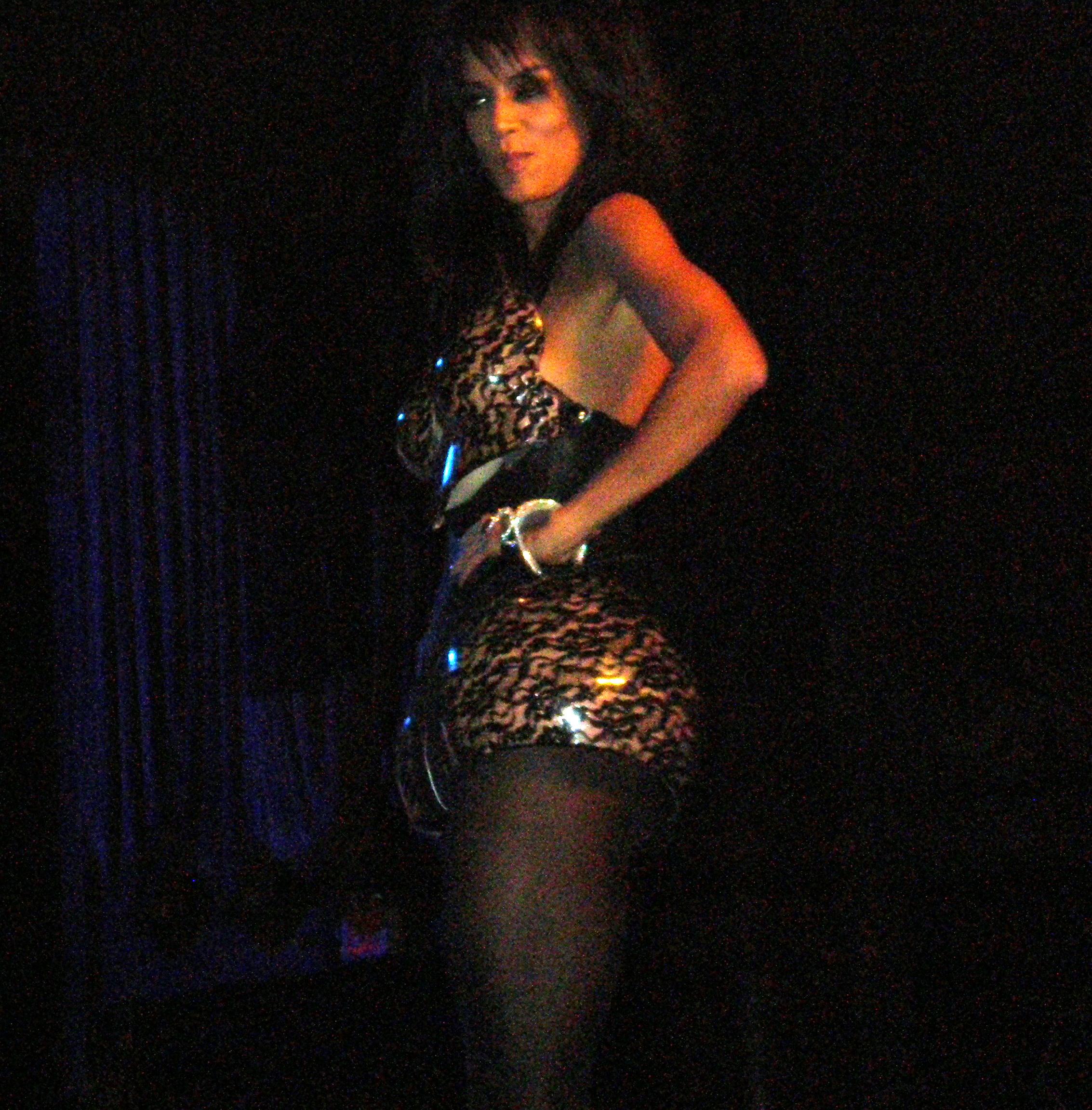 veronica black lingerie