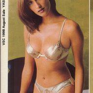 Yasmeen Ghauri lingerie