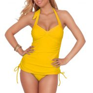 Yellow tankini