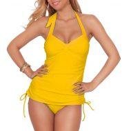 Yellow tankini